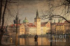 From Strelecky Island - view of the Old Town of Prague. To view or purchase prints, canvases, cards or phone cases visit joan-carroll.artistwebsites.com THANKS!