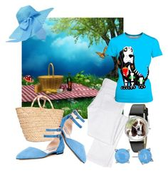 """""""Spring picnic"""" by wickedangel ❤ liked on Polyvore featuring Chloé, SJP, Kayu, Whimsical Watches and Vera Bradley"""