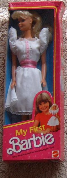 My First Barbie I had this one and thought she looked like Sandra D from Greece.