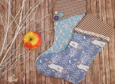 """Christmas Stockings aus dem Buch """"Nähen für Weihnachten"""" (TOPP6414), genäht von Annika"""