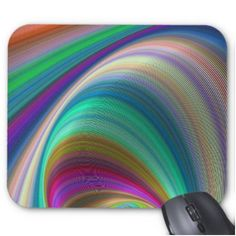 Colorful Dream Mouse Pad $12.10 *** Colorful elliptical abstract dream design - mouse pad