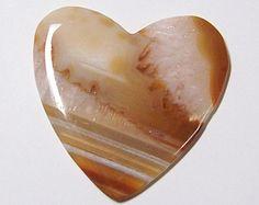 Large Heart Shaped Agate Stone