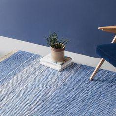160x230 Gamla Teppich - Blau | Finarte