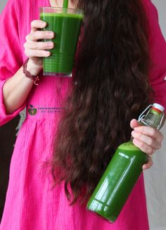 rawfood spinach-apple-ginger juice