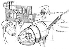 Rough study sketch-25min on Behance