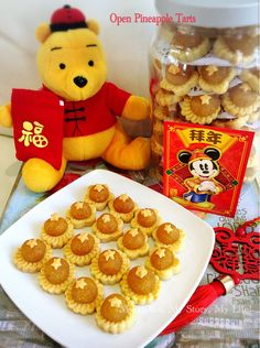Pineapple Tarts is a very common and well love Chinese New Year goodies.  This is a very good recipe given by a good friend of mine.  She not even generously share this recip...