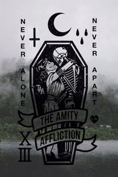 "deathshands: "" Never Alone, The Amity Affliction """