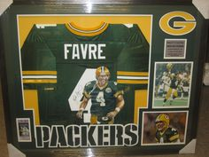 Brett Favre Green Bay Packers Painted Signed Autographed Jersey Framed Rare Item http://clektr.com/BuC