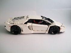 Lamborghini Aventador: A LEGO® creation by Nick Barrett : MOCpages.com