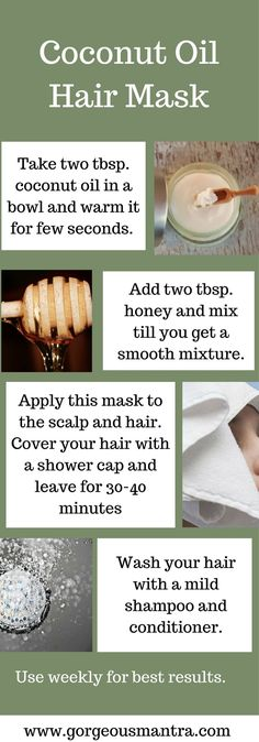 5 Amazing DIY Coconut Oil Hair Masks | Gorgeousmantra