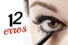 12 erros que você comete ao maquiar os olhos