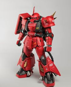 Custom Build: MG 1/100 Johnny Ridden's High Mobility Zaku II - Gundam Kits Collection News and Reviews