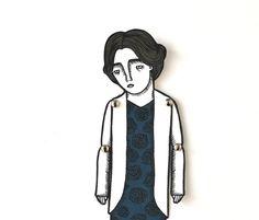 Virginia Woolf - Paper Doll