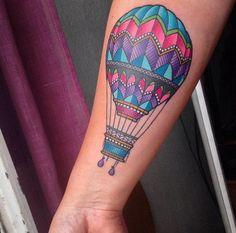 25 Tatuajes que son ideales para los adictos a viajar ¡El 6 es hermoso!