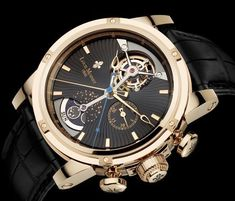Gold Mens Wrist Watches