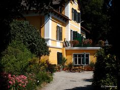 At the end of century Millstatt became famous as the Austrian Nice. Many people from Vienna and abroad – even from Russia – loved to stay for a summer vacation at the Millstatt Lake. Carinthia, Austria, Paths, Colorado, Villa, Vacation, Mansions, Nice, House Styles