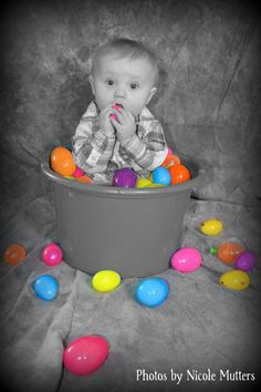 Eggs, baby Easter photography photo by Nicole Mutters http://www.facebook.com/pages/Photos-by-Nicole-Mutters/210703892317779