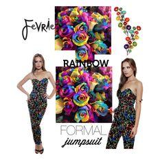 """""""Fevrie Rose Jumpsuit.. #fevriefashion"""" by pink1princess on Polyvore"""