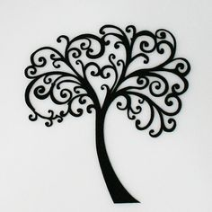 Beautiful Classic Tree of Life - want this as a decal and about four feet tall