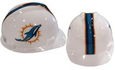 MSA NFL Ratchet Suspension Hardhats - Miami Dolphins  http://allstarsportsfan.com/product/msa-nfl-ratchet-suspension-hardhats/?attribute_pa_color=miami-dolphins  Great way to show your team spirit for your favorite NFL team Perfect to wear on the job or at the game Makes a great gift for any football fan