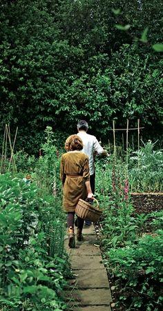 alys fowler & yotam ottolenghi on her allotment / Magic Garden <3