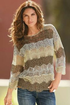 15 Spring & Summer Fashion Trends for Women 2017  - Do you want to add new pieces to your wardrobe for the upcoming seasons? Do you want to discover more about the latest fashion trends that are present... -  crochet-outfit-ideas-11 .