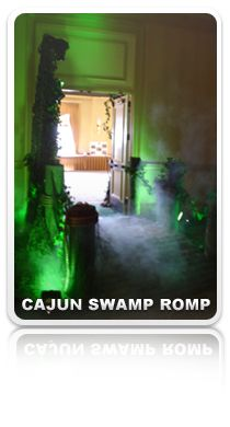 Cajun Swamp Romp party ideas- for a True Blood bash?