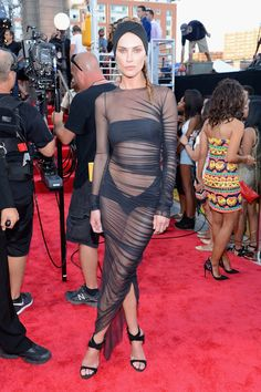 Model Erin Wasson at the 2013 MTV Video Music Awards (Photo by Larry Busacca/Getty Images for MTV)