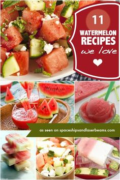 Kids party food: Watermelon recipes