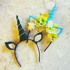 Because who doesn't want to be a unicorn? How to make at https://sassyunicorn.wordpress.com/2016/11/28/diy-unicorn-headband/