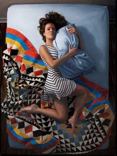 Chicas en la soledad de su dormitorio de Karen Ann Mayer