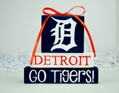 Detroit+Tigers+Baseball+WoodenBlock+Sports+Stack+by+WoodenBlock,+$12.00