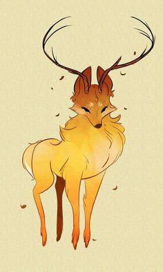 Elk Fox or Fox Deer