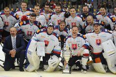 Video: Takto slovenskí hokejisti oslavovali triumf na Nemeckom pohári