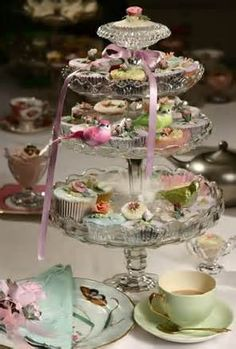 tea table decorations - Bing Images