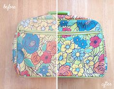 Scathingly Brilliant: what's old is new again - a genius tutorial on repairing faded items with fabric markers!!