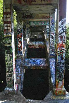 Secret Sidewalk - underneath