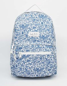 Image 1 of Jack Wills Classic Canvas Backpack