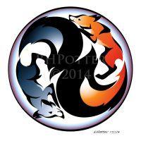 Yin y Yang por RHPotter