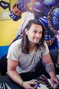 Jason Momoa. Beautiful.