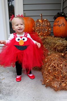 Make a cute diy pooh or tigger costume for your toddler with this handmade happiness character costume diy elmo costume love solutioingenieria Choice Image