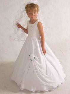vestidos de bautizo para niña de 5 años