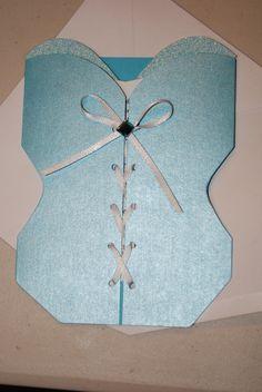 Bridal Shower Invitation for Danielle's Lingerie Shower