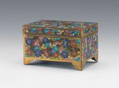 Millefleur Cloisonne Box