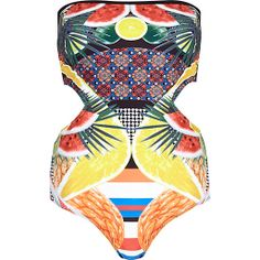 Get fruity with this cut-out swimsuit, only £25 from River Island!