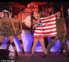 Katy Perry USA dress