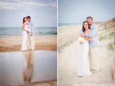 www.courtneyhathaway.com l Outer Banks Wedding, OBX Wedding, Beach Wedding, Destination Wedding, Wedding Photos, Bride & Groom, Wedding Portraits, Beach Wedding Portraits, Bride & Groom on beach
