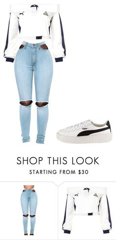 """""""Untitled #32"""" by allisonjohnson408 on Polyvore featuring WithChic and Puma"""