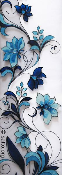 May make a nice stained glass design Stained Glass Paint, Stained Glass Flowers, Stained Glass Designs, Stained Glass Panels, Stained Glass Projects, Stained Glass Patterns, Stained Glass Tattoo, Mosaic Art, Mosaic Glass