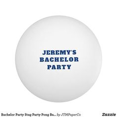Shop Bachelor Party Stag Party Pong Ball Blue Hashtag created by JTMPaperCo. Be My Groomsman, Groom And Groomsmen, Groomsman Gifts, Team Groom, Lgbt Wedding, Father Of The Bride, Party, Custom Badges, Blue